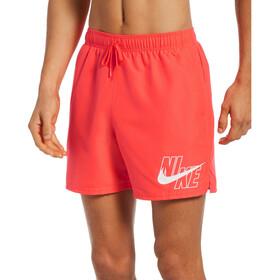 "Nike Swim Logo Solid 5"" Volley Shorts Men, rood"